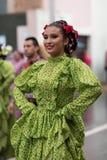 El desfile de la revolución mexicana del 20 de noviembre Fotos de archivo
