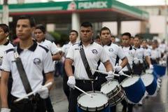 El desfile de la revolución mexicana del 20 de noviembre Fotos de archivo libres de regalías
