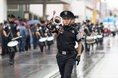 El desfile de la revolución mexicana del 20 de noviembre Foto de archivo libre de regalías