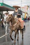 El desfile de la revolución mexicana del 20 de noviembre Fotografía de archivo libre de regalías