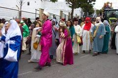 El desfile de los hombres sabios en Carmona 04 Fotos de archivo
