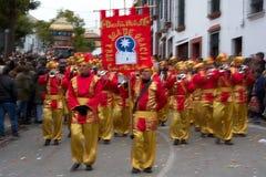 El desfile de los hombres sabios en Carmona 23 Fotografía de archivo libre de regalías