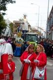 El desfile de los hombres sabios en Carmona 37 Foto de archivo libre de regalías