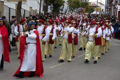 El desfile de los hombres sabios en Carmona 45 Imagen de archivo libre de regalías