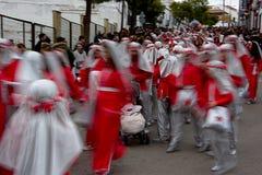 El desfile de los hombres sabios en Carmona 46 Foto de archivo libre de regalías