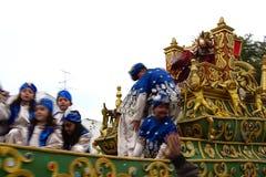 El desfile de los hombres sabios en Carmona 60 Imagen de archivo libre de regalías