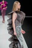 El desfile de moda Pierre Cardin en semana de la moda de Moscú con el amor para el otoño invierno 2016/2017 de Rusia Fotografía de archivo