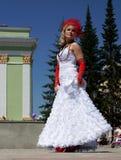 El desfile de novias Fotografía de archivo