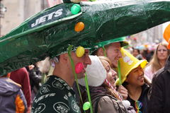 El desfile 133 de 2015 NYC Pascua Foto de archivo