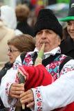 Desfile del día de St Patrick Foto de archivo