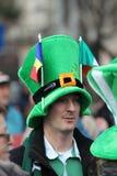 Desfile del día de St Patrick Fotos de archivo libres de regalías