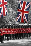 El desfile del cumpleaños de la reina Imagen de archivo