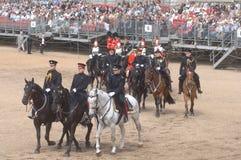 el desfile del cumpleaños de las reinas. Imagen de archivo