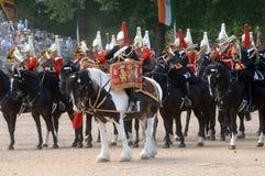 El desfile del cumpleaños de las reinas. Foto de archivo libre de regalías