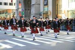 El desfile del día de San Patricio Imágenes de archivo libres de regalías