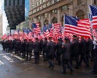 El desfile del día del St. Patrick Foto de archivo