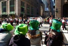 El desfile del día del St. Patrick Fotografía de archivo