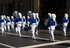 El desfile del día del St. Patrick Imagen de archivo libre de regalías