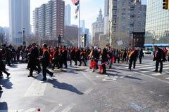 El desfile lunar chino 40 del Año Nuevo 2015 Fotos de archivo