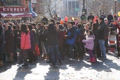 El desfile lunar chino 146 del Año Nuevo 2015 Foto de archivo libre de regalías