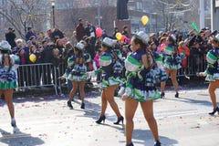 El desfile lunar chino 149 del Año Nuevo 2015 Fotos de archivo