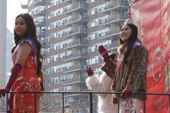 El desfile lunar chino 157 del Año Nuevo 2015 Imagen de archivo libre de regalías