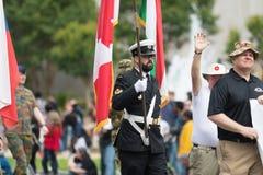 El desfile nacional del Día de los caídos imagen de archivo libre de regalías