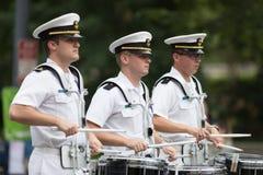 El desfile nacional del Día de los caídos fotografía de archivo