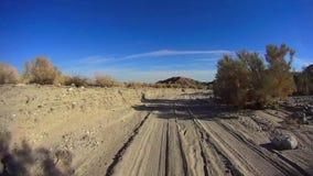 El desierto 4X4 campo a través de Anza Borrego - abandone del camino Borrego 5 PALMAS 12 metrajes