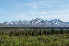 El desierto de Alaska Foto de archivo libre de regalías