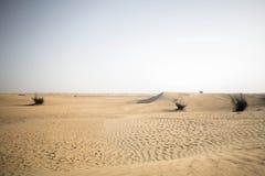 El desierto de Dubai Imagen de archivo