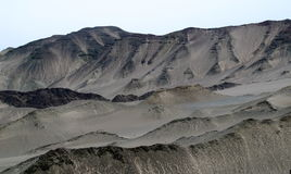 El desierto de Gobi en CHINA Imagen de archivo libre de regalías
