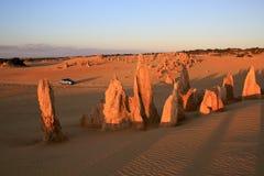 El desierto de los pináculos Imagen de archivo