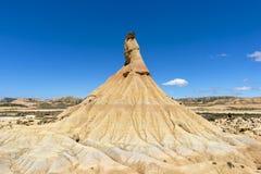 El desierto de los reales de los bardenas Foto de archivo