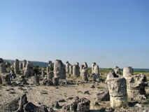 El desierto de piedra en Bulgaria Fotos de archivo