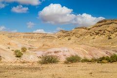 El desierto del Néguev Imagen de archivo