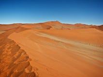 El desierto rojo Imagenes de archivo