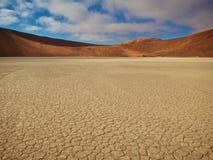El desierto rojo Foto de archivo libre de regalías
