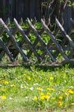 el despertar del este de la primavera del área rural de la cabaña del campo Imagen de archivo libre de regalías