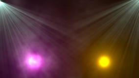 El destellar dinámico de las luces de la etapa brillante stock de ilustración