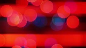 El destellar Garland Lights Blur Background almacen de metraje de vídeo