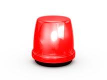 El destellar rojo claro Foto de archivo libre de regalías