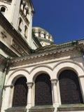 El detalle de la catedral de Sofía dedicó al santo Alexander Nevsky Fotografía de archivo