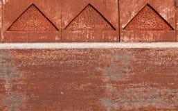 El detalle de una pared de madera Foto de archivo libre de regalías
