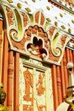 El detalle del modelo del budista de la pagoda imagen de archivo libre de regalías