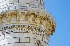 Detalle del Taj Mahal Foto de archivo libre de regalías