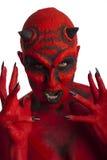 El diablo. Foto de archivo libre de regalías