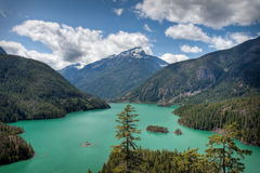 El Diablo Lake Royalty Free Stock Photos