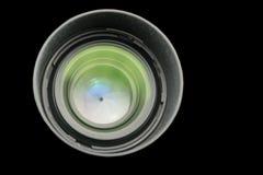 El diafragma de una abertura de lente de cámara Imágenes de archivo libres de regalías