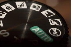 El dial del modo Fotos de archivo libres de regalías